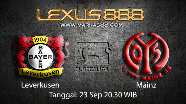 Prediksi Bola Jitu Leverkusen vs Mainz 23 September 2018 ( German Bundesliga )
