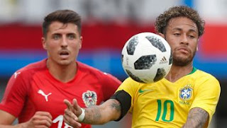 Austria vs Brasil 0-3 Video Gol & Highlights