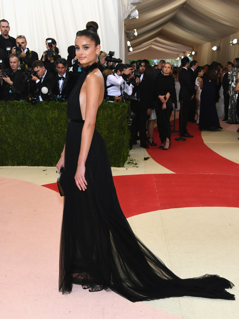 Taylor Hill at the 2016 MET Gala