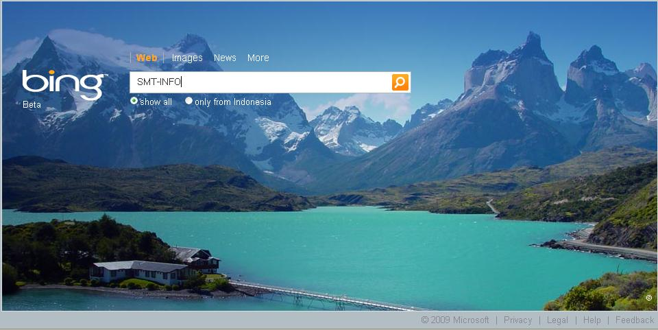 IT'S ALL ABOUT TECH AND SOFT: Microsoft's Bing Gets Major