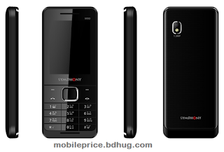 Symphony M90 Feature, Specification, Price In Bangladesh