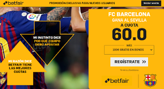 betfair supercuota Barcelona gana Sevilla 23 enero 2019