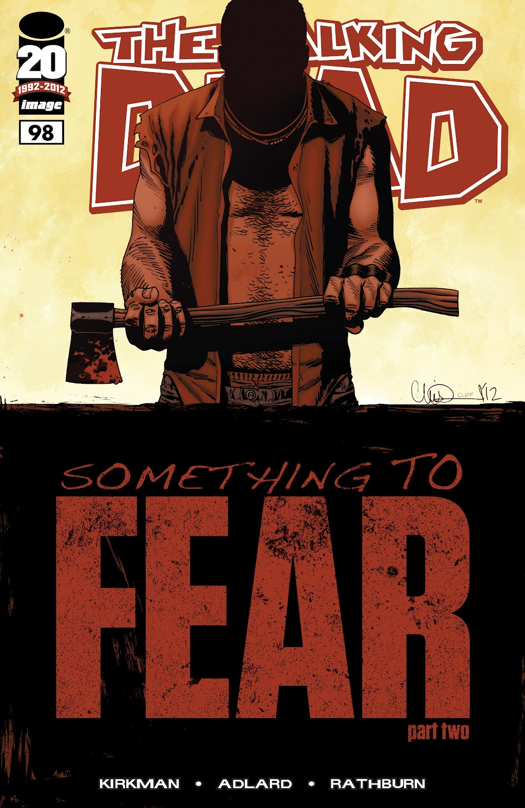 The Walking Dead issue 98 - Page 1
