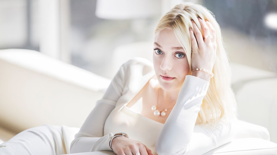 Dakota Fanning, Beautiful, Blonde, Girl, 4K, #4.675