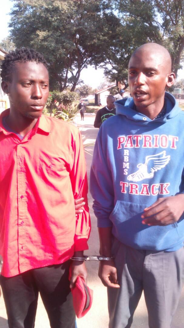 Notorious robbers steal from Mazambani Shop