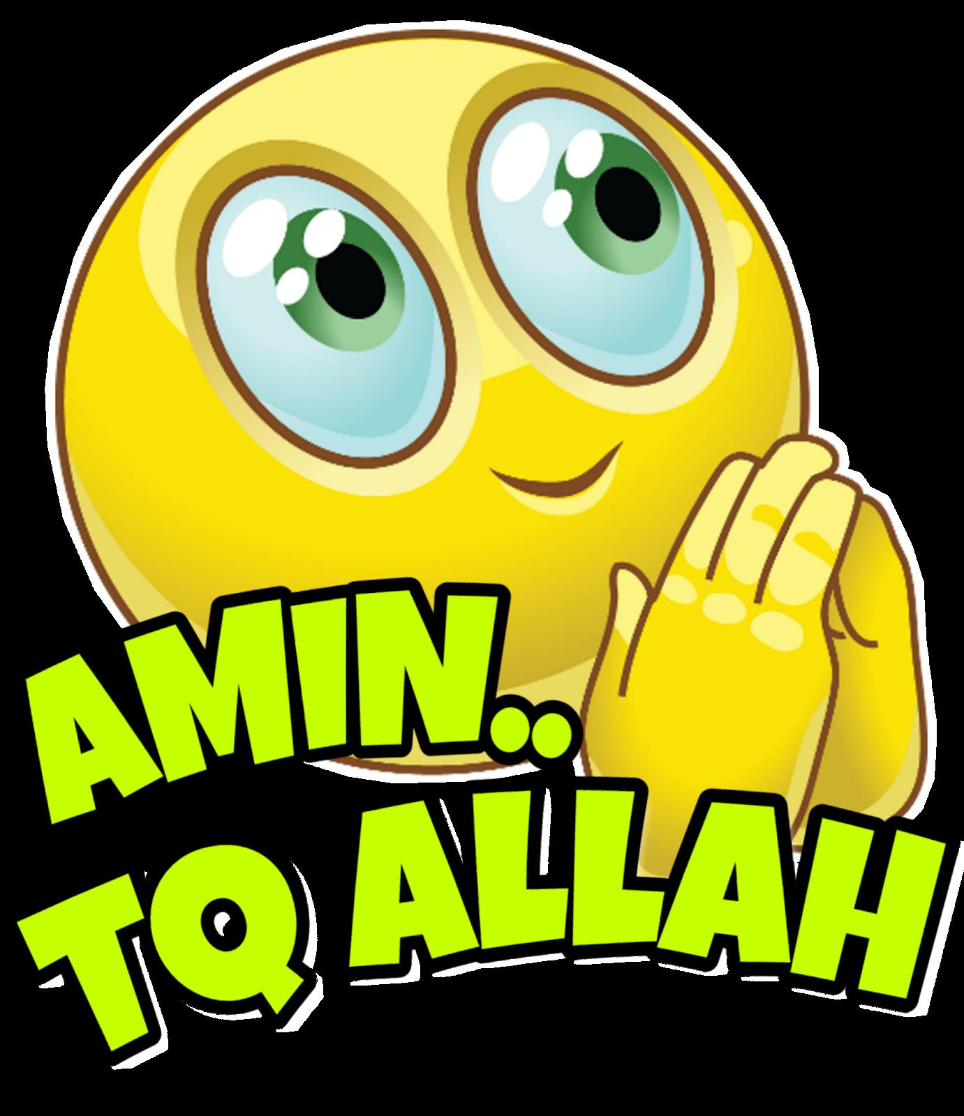 3000+ Gambar Emoticon Amin HD Gratis