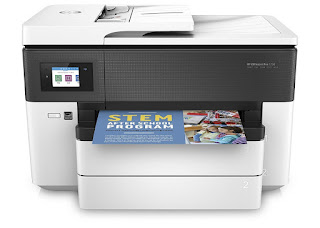Easily impress an assortment on a release of paper sizes upwards to  HP Officejet Pro 7730 Drivers Download