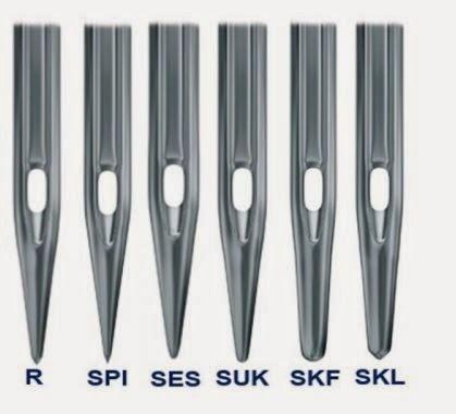 555568dfb Punta redonda normal R -Esta es utilizada para telas normales con costura  estandar.
