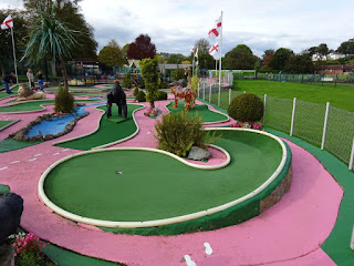 Crazy Golf in Stourport on Severn