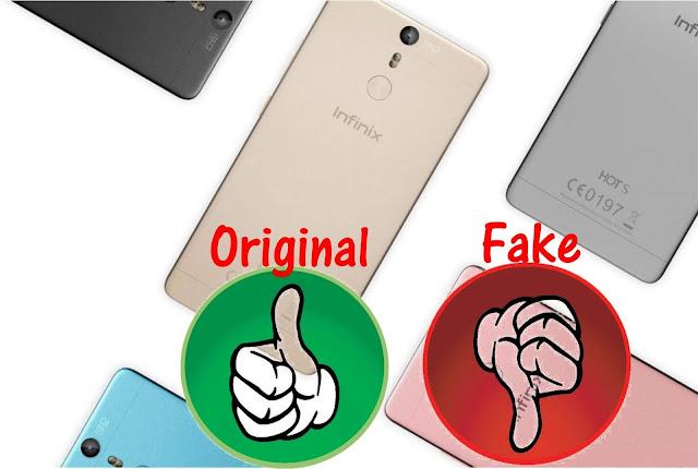 Fake & Original Infinix