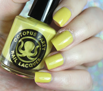 Octopus Party Nail Lacquer Cribbage and The Horse