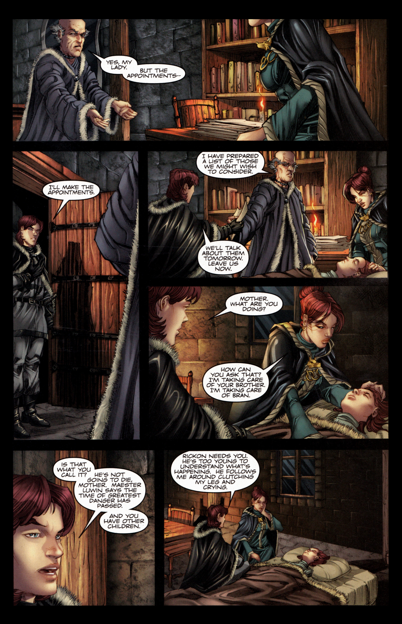 Read online A Game Of Thrones comic -  Issue #4 - 21