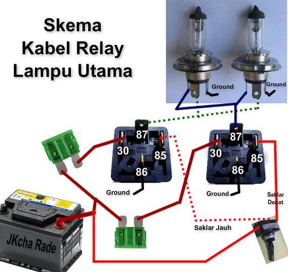 Fungsi Switch Lampu Mobil Dan Cara Memperbaikinya