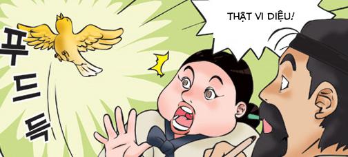Kim Chi & Củ Cải (bộ mới) phần 168: Vẽ ảo thành thật