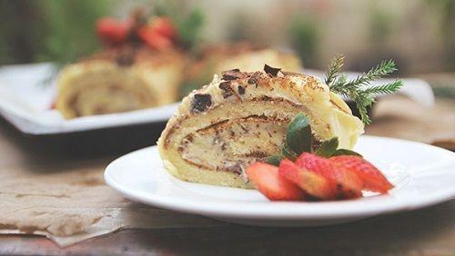 Bánh cuộn tiramisu