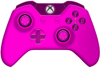 pink xbox one controller