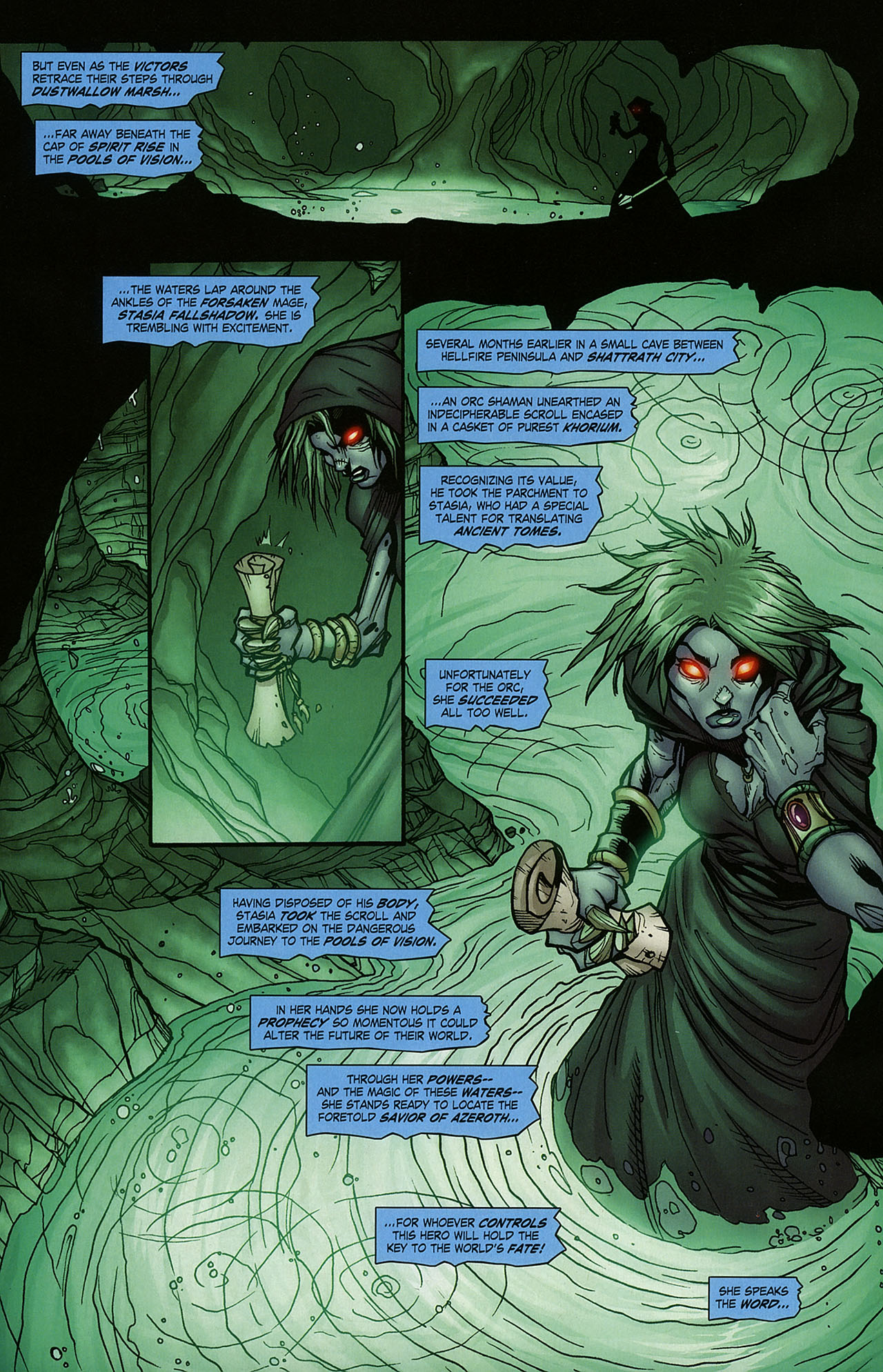 Read online World of Warcraft comic -  Issue #15 - 5