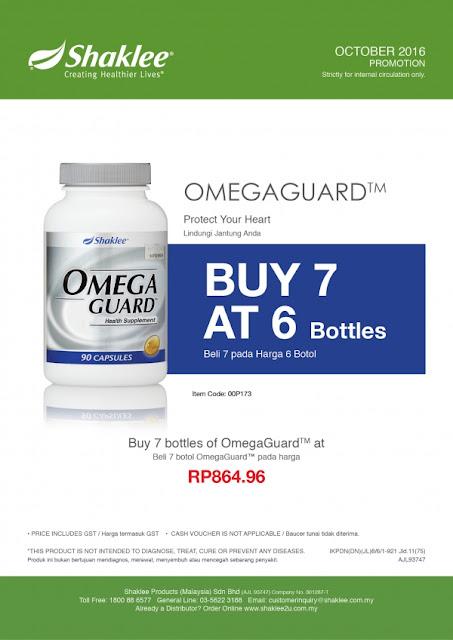 omega guard shaklee murah