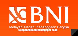 Call Center Customer Service BNI Bebas Pulsa