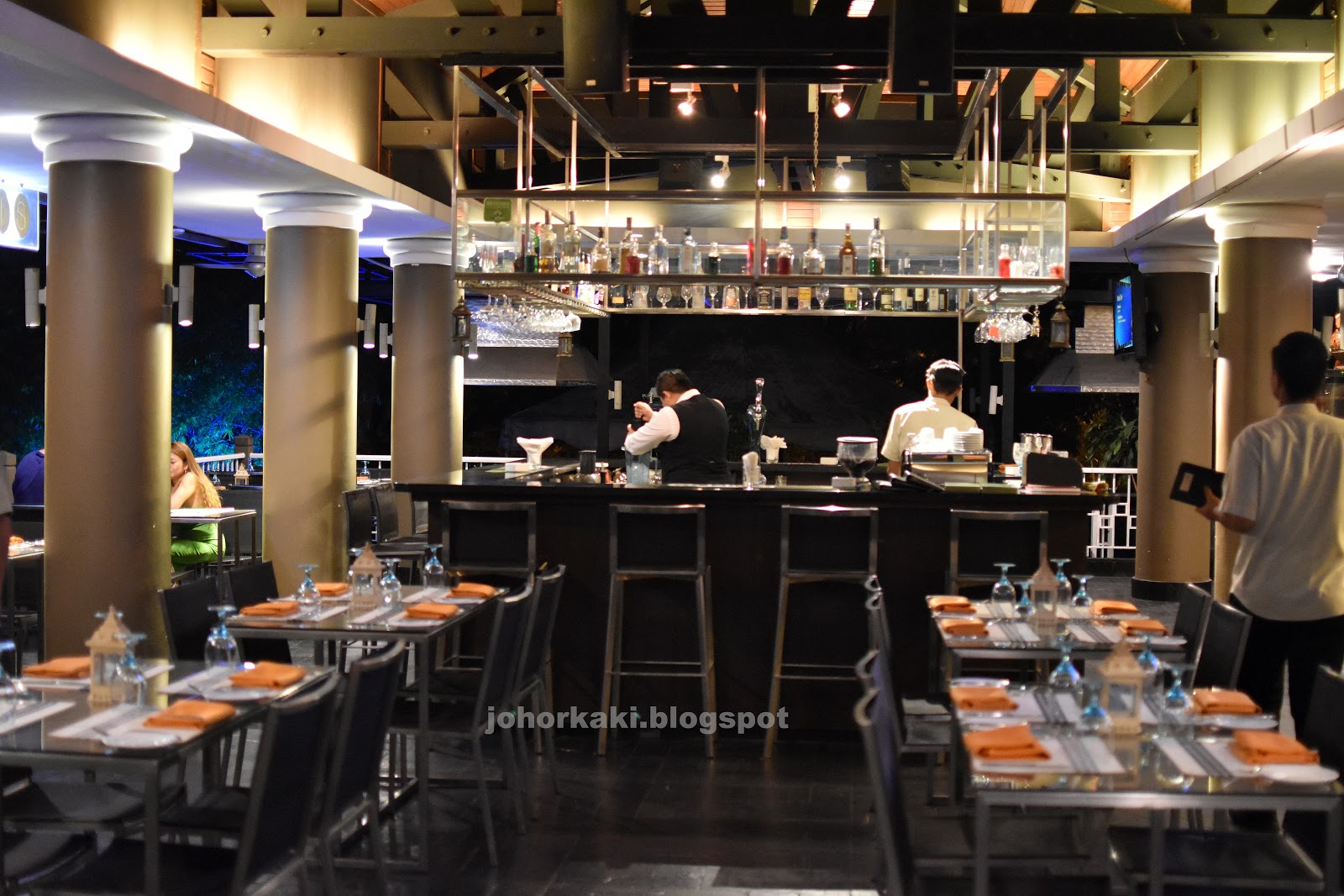Oasis the italian restaurant at thistle johor bahru jk