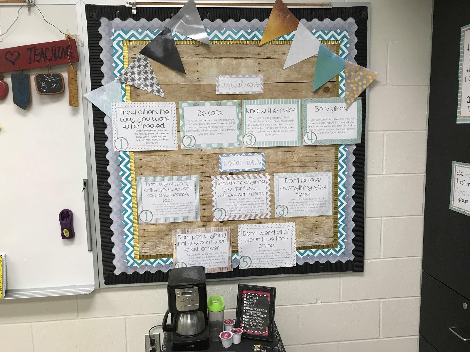 Classroom Reveal 2017-2018 - Tech and Teachability