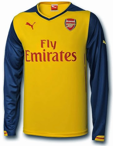 Arsenal New Puma Away Kit 2014-2015