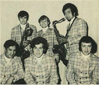 Quincy Conserve in Gisborne, January 1969. At rear John McCormick, Malcolm Hayman, Dennis Mason. Front Rufus Rehu, Raice McLeod, David Orams. Credit Gisborne Photo News