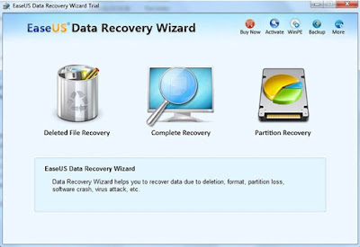 EaseUS Data Recovery Wizard Professional Virus Solution Provider