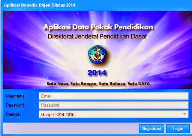 CARA INSTAL DAPODIK G 3 - 2014