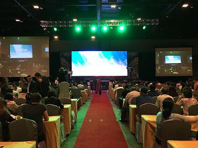 Thi công màn hình led p2 indoor tại Cần giờ
