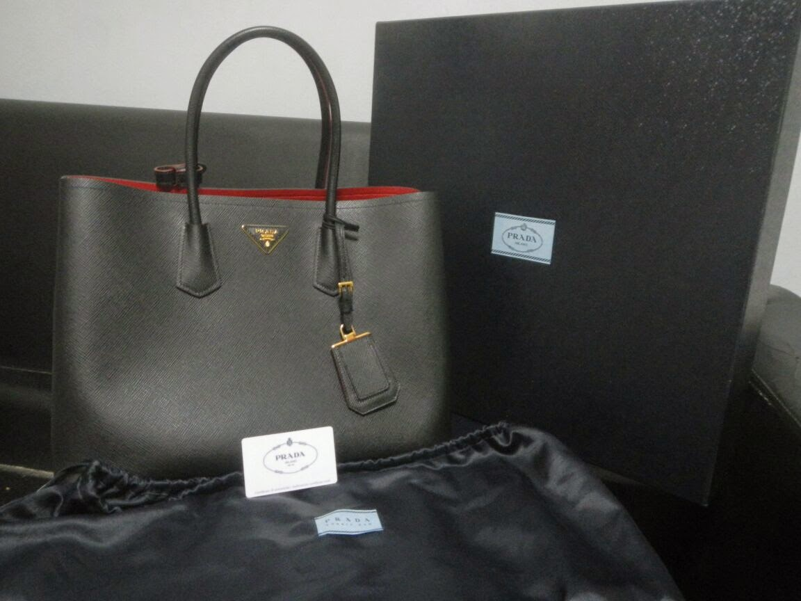 bf0ead71fc5d BagSG: Buy and Sell Authentic Branded stuff at BagSG: Prada Saffiano ...
