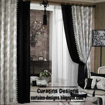 Black And White Curtains Top 10 Designs Of