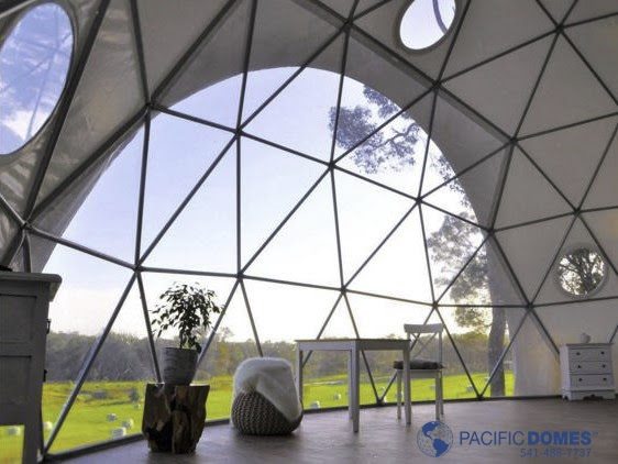 Shelter Domes - Dome Homes by Pacific Domes: Tiny GeoDome Homes by ...