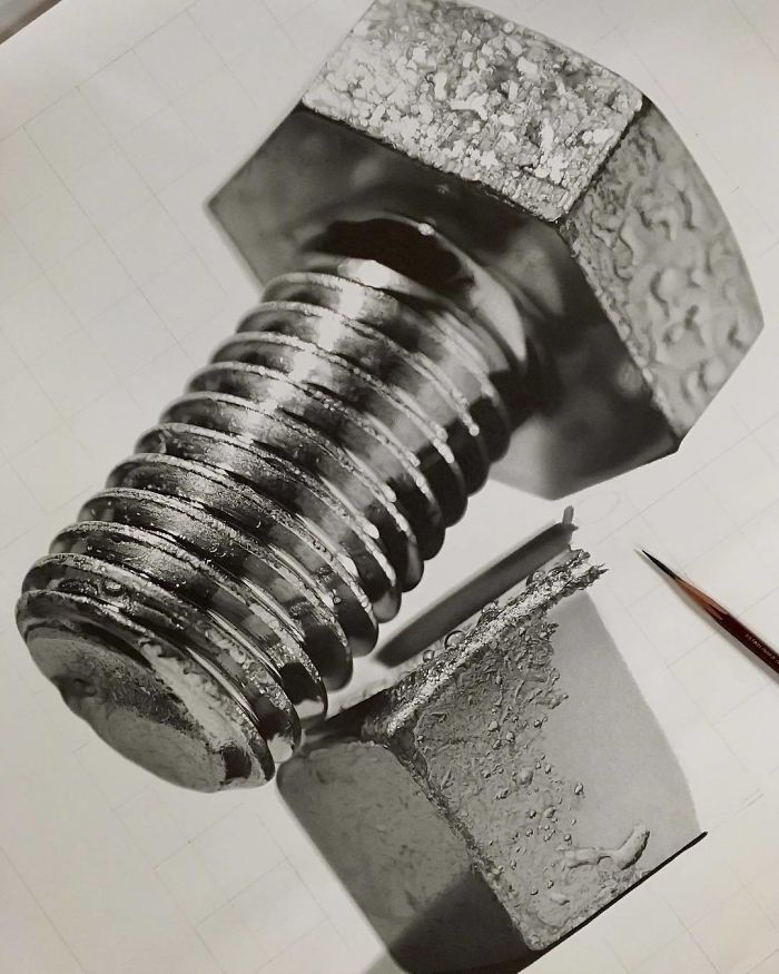 10-Nut-and-Bolt-Kohei-Ohmori-大森-浩平-kohei6620-Drawing-Perfection-www-designstack-co