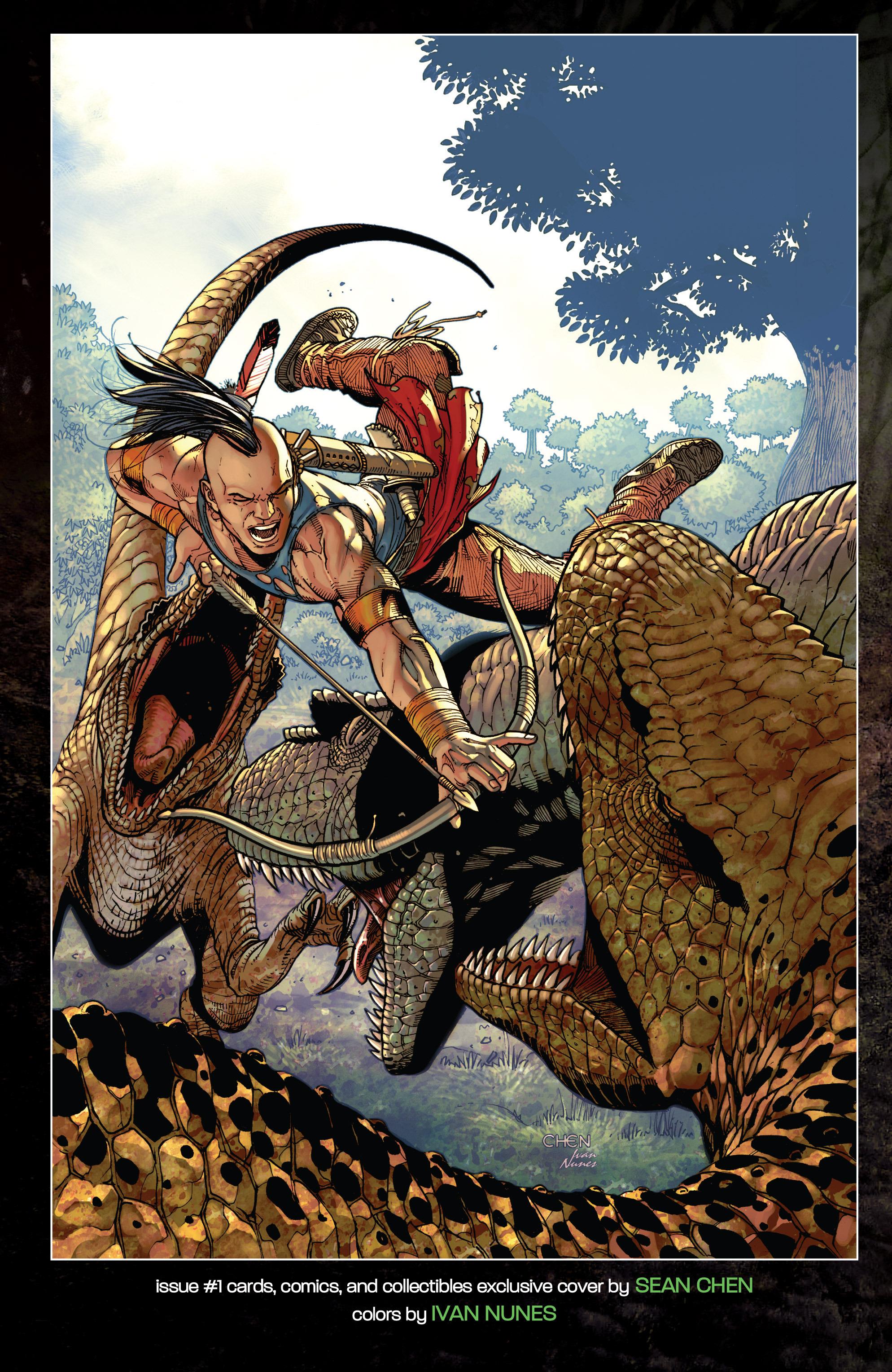 Read online Turok: Dinosaur Hunter (2014) comic -  Issue # _TPB 1 - 123