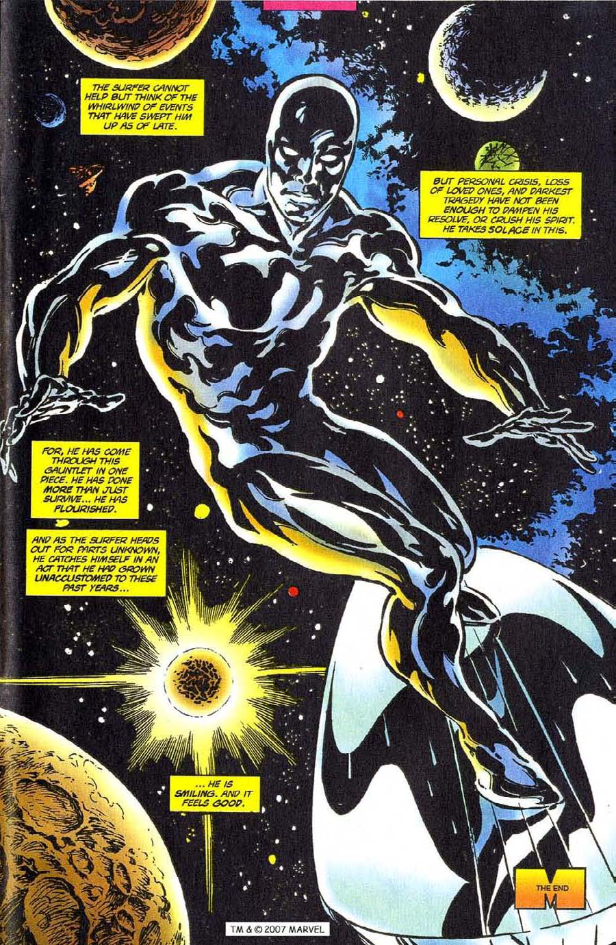 Read online Silver Surfer (1987) comic -  Issue #110 - 33