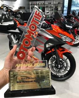 Kawasaki Ninja 250 cc 2018 motor terbaik