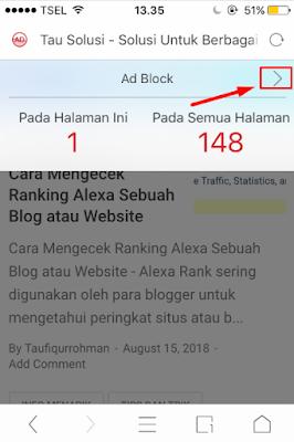 Tutorial Mengatasi Gambar Blog/Situs yang Tidak Muncul di UC Browser 2