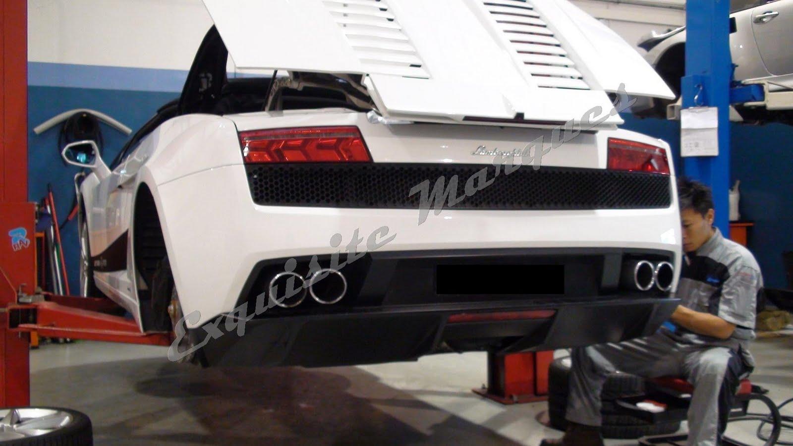 Exquisite Marques: Lamborghini LP560 Capristo Exhaust