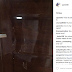[Photo]: The Lady Who Claims She's Pregnant for Burna Boy, Said He Broke Through Her Door
