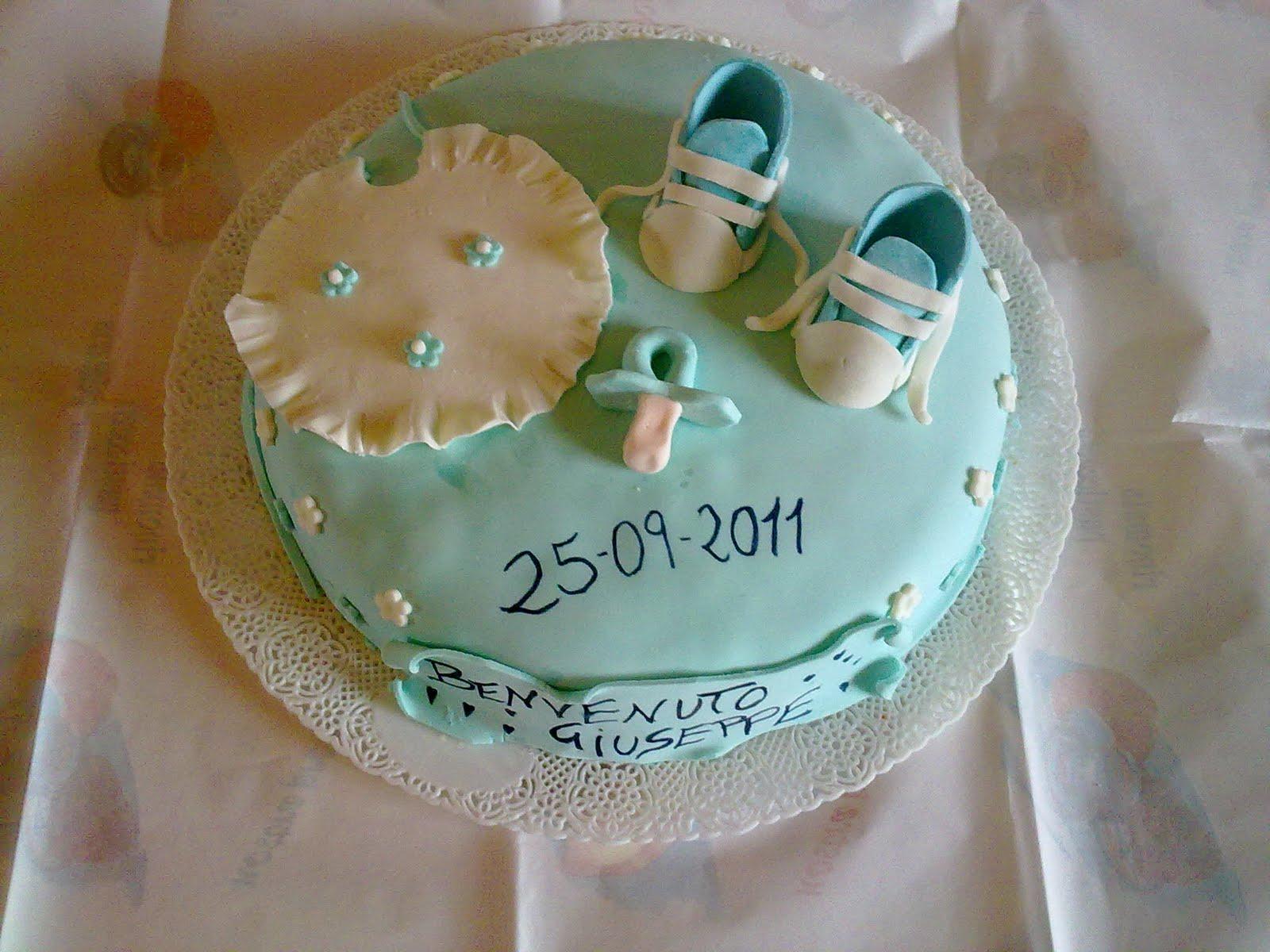Preferenza Dolcicreazioni, torte e bijoux.: Torta benvenuto Giuseppe JX98