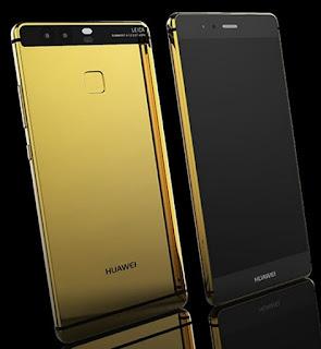 Huawei P9 Dengan Balutan Emas 24K
