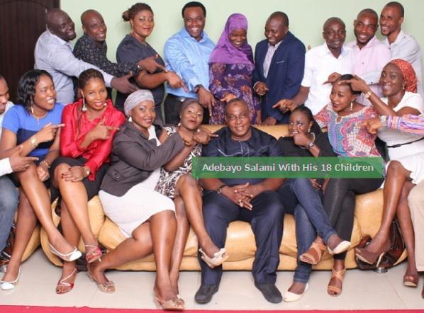 adebayo salami 18 children