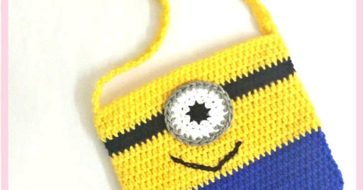 Crochet Minion Bag Pattern : Made In Craftadise Top Art & Crafts, Home Decor blog in ...