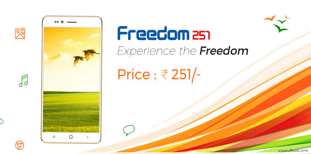 How to Book Freedom 251 India's cheapest smartphone: RingingBell Freedom 251