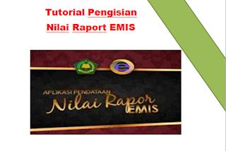Tutorial Pengisian Raport EMIS Terbaru