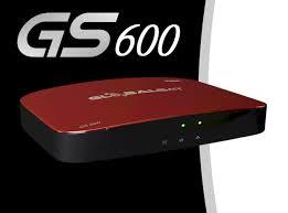 ATUALIZAÇÃO GLOBALSAT GS600 STREAM IPTV V 2.546 - 20/09/2017