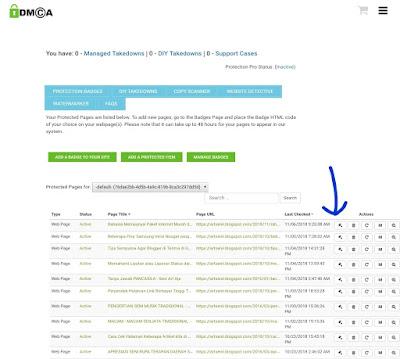 Cara Melaporkan Konten Artikel di DMCA dengan Berbayar dan pelayanan Profesional