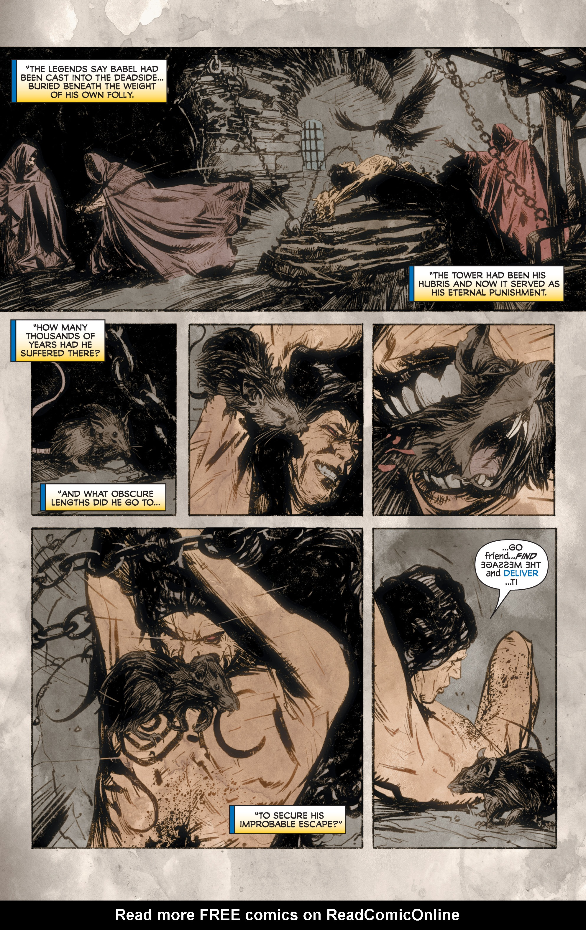 Read online Rapture comic -  Issue #2 - 9