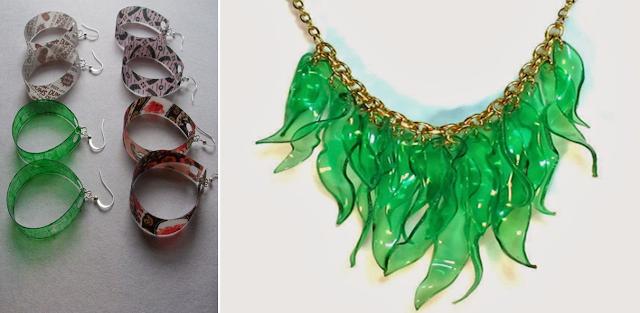 Pemanfaatan Limbah Plastik - Aksesoris perhiasan